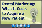 Dental practice marketing with internet video